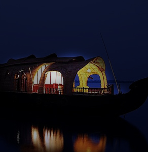 Over night stay in houseboat